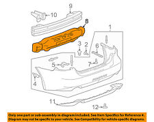 Pontiac GM OEM 04-08 Grand Prix Bumper Face-Foam Impact Absorber Bar 10354424