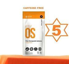 Orange Dream  Keto-OS by Pruvit 5 Day Supply Caffeine FREE Supplement Orange