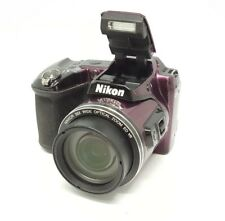 Nikon Coolpix L840 16 MP Digital Camera 38x Optical Zoom Plum Full-HD WiFi/NFC™