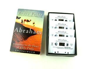 Abraham Bruce Feiler Journey Heart Faiths Audiobook Audio Book Cassette Tapes