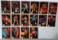 1990-91 Skybox Atlanta Hawks Team Set Of 16 Basketball Cards