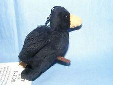 Steiff Keyring Bird Raven - EAN 112355 Key Ring Nice Birthday Gift Present