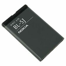 For Nokia BL-5J Battery For 5800 XpressMusic, N900 5230 Nuron X6 C3 5233 5228 52