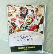 TOPPS MARS ATTACKS OCCUPATION CREATORS AUTOGRAPHED CARD A-11 JASON CROSBY