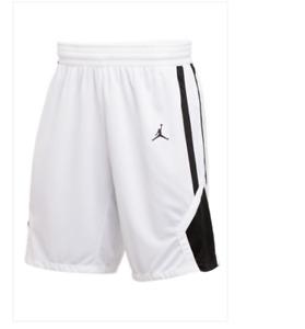 Nike Jordan Team Stock Short Men's White/Black AR4321 106 Basketball