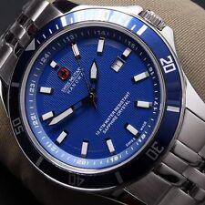 Polierte bis zu 100 m (10 ATM) wasserbeständige Armbanduhren im Luxus-Stil