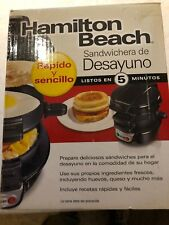Hamilton Beach 25477 Breakfast Electric Sandwich Maker, free shipping new