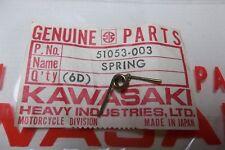NOS Kawasaki H1, H2, KH500, S1, S2, S3 Z1 Fuel Cap Spring 51053-003