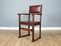 English Arts & Crafts Elbow Chair