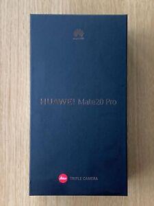 BRAND NEW FACTORY UNLOCKED HUAWEI MATE 20 PRO 128GB BLACK SINGLE SIM EURO SPEC