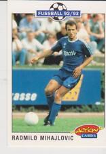 Panini Fussball 92-93 Action Cards #197 Radmilo Mihajlovic FC Schalke 04