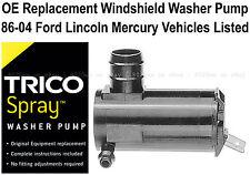 Windshield / Wiper Washer Fluid Pump (a) - Trico Spray 11-518
