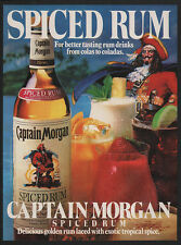 1983 CAPTAIN MORGAN Spiced Rum - Better Tasting Colas to Coladas -  VINTAGE AD