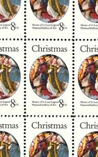 1972- CHRISTMAS ANGEL - VIRGIN MARY - #1471 Full Mint Sheet of 50 Postage Stamps