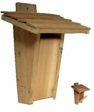 Ark Workshop Slot Entrance Cedar Bluebird House box: proven to work (see pics)