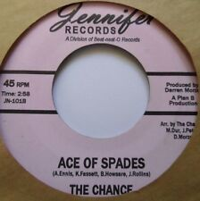 """THE CHANCE ~ """"ACE of SPADES"""" private INDIE ROCK ~ 90s JENNIFER ~ GARAGE ~ HEAR"""