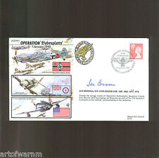 JS50/45/1  OPERATION BODENPLATTE ,1 Jan 1945,   signed RAF WW2 comm.cover