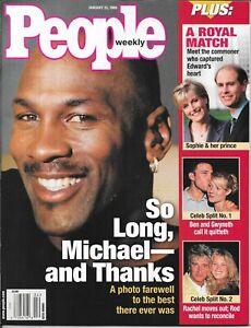 PEOPLE not Sports Illustrated 1999 MICHAEL JORDAN Chicago Bull NEWSSTAND MintNIB