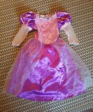 Disney Store Exclusive Rapunzel Tangled Fancy Dress Costume Ages 5-6 Years VGC