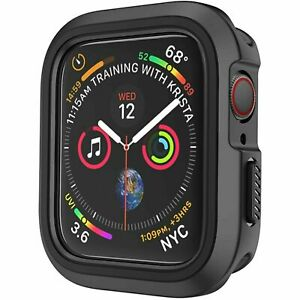 For Apple Watch Series 6 5 4 SE 40mm 44mm Bumper Hard Case Cover TPU Protector