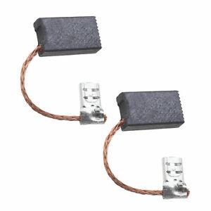 Pair of 5x10x17.2mm Carbon Brushes For Karcher K2 66102100 K201 K205 K207