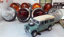 Land Rover Série 2 2 A L594 Lentilles en verre Externe FEUX KIT COMPLET LUCAS