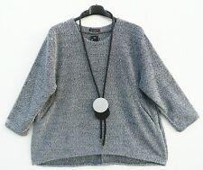 NEU ITALY Mode Pullover Tunika Tunic Tunique XXL 52 54 Lagenlook **