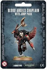 Warhammer 40k Blood Angels DEATH COMPANY CHAPLAIN with Jump Pack Space Marines