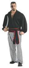 Men's Plus Size Buccaneer Pirate Costume Swashbuckler Caribbean Pirate