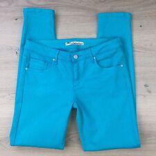 Jag Technicolour Turquoise Slim Women's Jeans Size 11W31 L30 (V16)