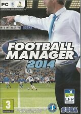 Football Manager 2014 (PC, 2014, DVD-Box) ohne Anleitung, MIT Steam Key Code
