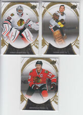 15/16 UD Trilogy Chicago Blackhawks 3 cards - Toews Crawford Hall