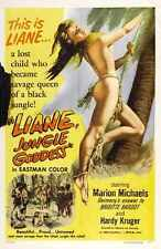 Liane Jungle Goddess Poster 01 A2 Box Canvas Print