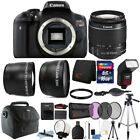 Canon EOS Rebel Digital SLR T6 18MP Camera with 18-55mm Lens and Bundle Kit