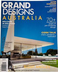 GRAND DESIGNS AUSTRALIA Magazine Issue 8.6 Welcome in Wellness Peter Maddison VG