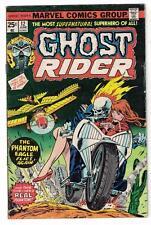 Marvel Comics Ghost Rider Bronze age #12 1975 Vgf 5.0