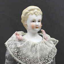 FANCY  HAIRDO  ANTIQUE  BLONDE  CHINA  DOLL - - FRONT CURLS