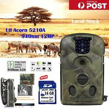 Little Acorn Ltl-5210A Hunting Camera 12MP Scouting Game Trail Wildlife 16GB Cam