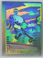 1991 IMPEL * MARVEL UNIVERSE SERIES 2 * THE PUNISHER HOLOGRAM #H-3 * WOW *