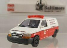 "Busch Dodge Ram Van ""Baltimore"" 1:87 H0 44655"