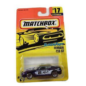 Matchbox Superfast 1996 #17 Ferrari 456 GT New in Packaging Diecast 1/64