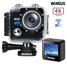 Action Camera Wimius Wifi 4K Full HD 1080P 20MP  Waterproof Sports Helmet cam DV