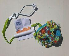 Evenflo Exersaucer Blue Bee Bird Baby Door Doorway Jumper Jump Exercise Toy