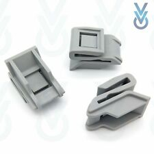 3x Rear Bumper Clips- Mounting Securing Bracket Fasteners, Fits Nissan Qashqai