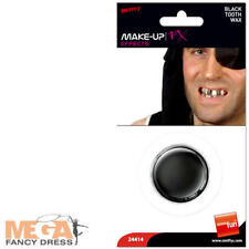 Black Tooth Wax Fancy Dress Halloween Pirate Rotten Teeth Costume Accessory New