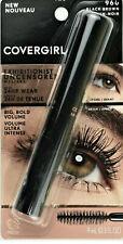 (2) Covergirl Exhibitionist Uncensored Mascara #960 Black Brown