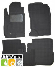 All Weather Floor Liner Velour Carmats Rubber Backing Fit Mitsubishi Outlander I