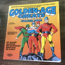 'Golden Age Greats Volume 4' Book by Bill Black 1995 Paperback