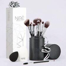 Nir Beauty Makeup Brush Set: Make up Brushes with Brush Case