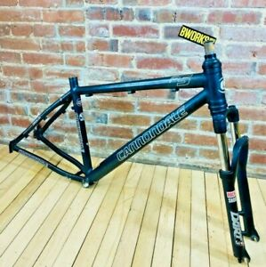Cannondale F5 MTB Frame Large Black Alloy RockShox Dart Mountain Bike Frameset
